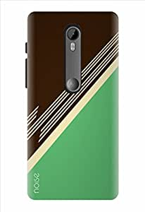 Noise Designer Printed Case / Cover for Motorola Moto G3 / Patterns & Ethnic / Amber Green Design
