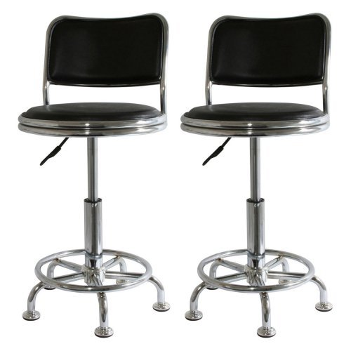 Buffalo Tools Bs2088set Home Style Shop Stool Metal Shop Stools