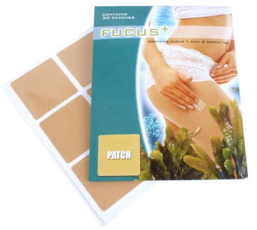 Fucus Vesiculosus Slimming Patches For Natural Weight Loss - 1 Month Supply, 30 Diet Patches