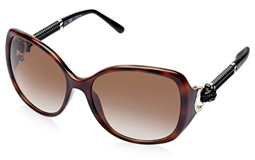 Escada Escada Oversized Sunglasses (Demi Brown) (SES 232|0748|59)