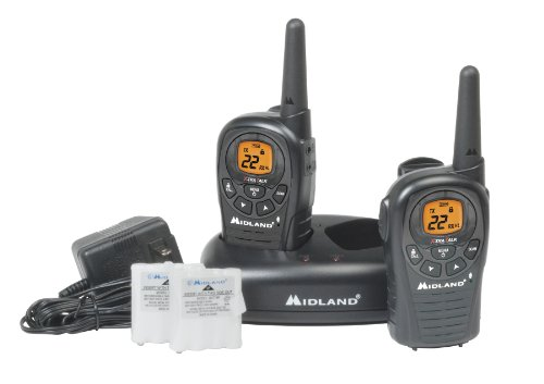 Midland LXT380VP3 24-Mile 22-Channel FRS/GMRS Two-Way Radio (Pair)