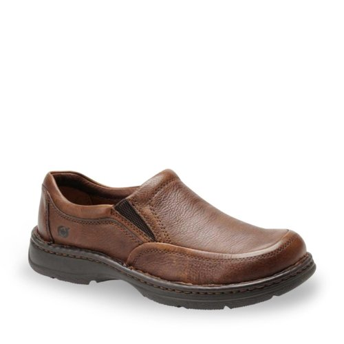 Born Men's Blast II Slip-On Shoes (10.5, Mahogany)