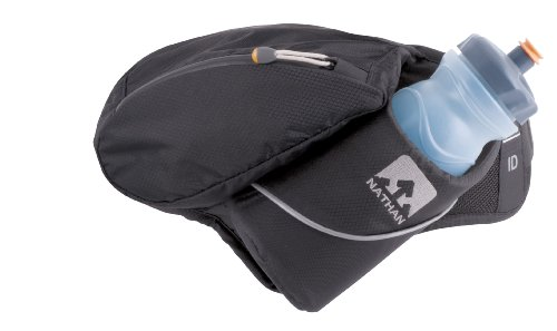 Nathan Nathan Trek 22-Ounce Angled Holster Hydration Waist Pack (Black)