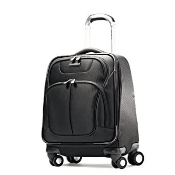 Samsonite Luggage Hyperspace Spinner Boarding Bag, Galaxy Black, One Size