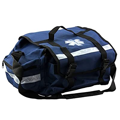 "Primacare KB-RO74-B Trauma Bag, 7"" Height x 17"" Width x 9"" Depth, Blue by Primacare"