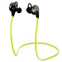 Mpow Swift MBH5-PS-1 Bluetooth Headphones (Fluorescence Green)