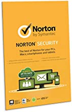Norton Security 2.0 in 1 User 5 Devices [2015] [Product Key Card]