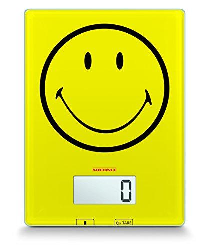 Soehnle 66301 balance de cuisine numérique smiley happy