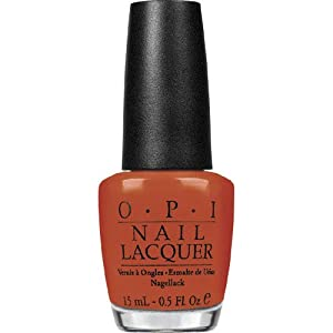 OPI Nail Lacquer, A Good Man-Darin Is Hard To Find, 0.5 Ounce