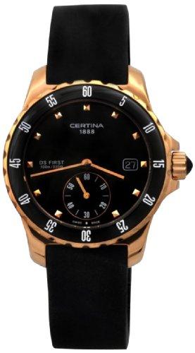 Certina Ladies'Watch XS Analogue Rubber Quartz C014,235,37,051,00