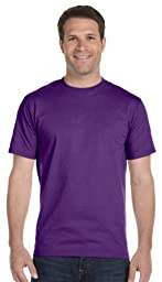 Gildan Activewear DryBlend 50 Cotton/50 DryBlend Poly T-Shirt, 5XL, Purple