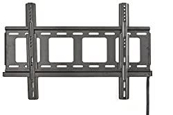 Displays2go MNTW518MF 32 to 50 Inches Low Profile Stationary TV Mount for Flat Screen Monitor