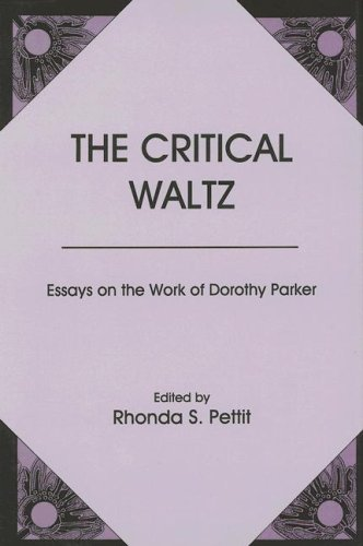 """an analysis of the main themes in dorothy parkers the waltz Rabu, 18 april 2012 analyzing a short story """"the standard of living"""" by dorothy parker character: major character:."""