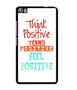 Fuson 2D Printed Quotes Designer back case cover for Micromax Canvas Fire 4 A107 - D4532