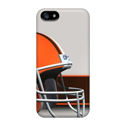 Fashionable Style Case Cover Skin For Iphone 5/5s- Cleveland Browns Helmet Nfl Football