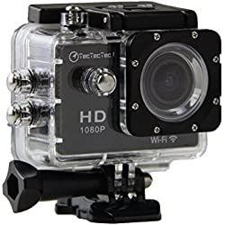 TecTecTec!® WIFI Action Sport Cam Camera Waterproof Full HD 1080p 720p Video Helmetcam