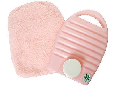 あったかカラフル湯たんぽ ピンク