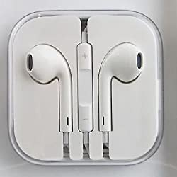 APPLE IPHONE 6 6 PLUS 5 5s ORIGINAL HANDSFREE EARPHONE WITH REMOTE & MIC