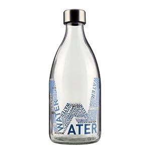 bouteille de eau e d 39 1l en verre pour le frigo 100 recyclable cuisine maison. Black Bedroom Furniture Sets. Home Design Ideas