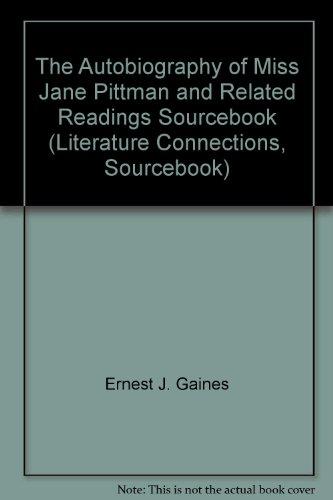 Essays autobiography miss jane pittman