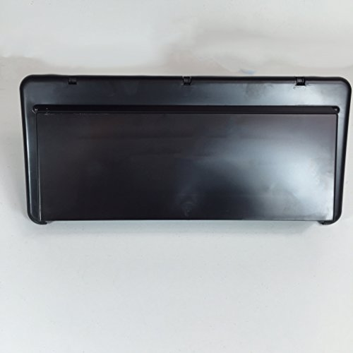 NEW BLACK RV CAMPER TRAVEL TRAILER RANGE HOOD EXTERIOR OUTSIDE VENT COVER W DAMPER (Stove Hood Cover compare prices)