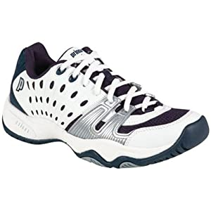 T22 Junior Tennis Shoes White Navy from Prince
