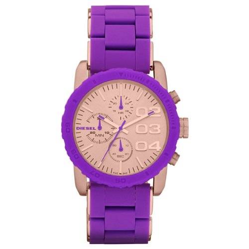 Diesel Damen-Armbanduhr Chronograph Quarz Plastik DZ5361