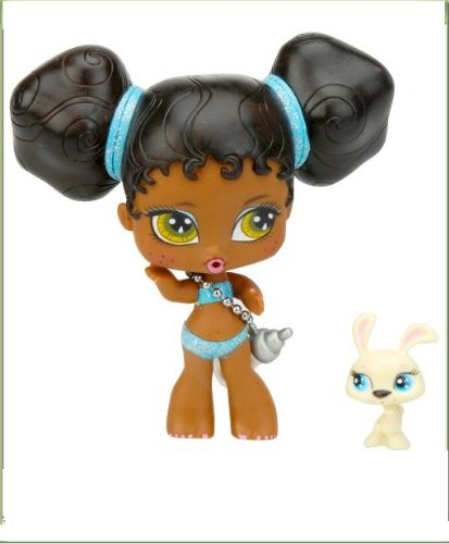 Bratz Babyz & Bratz Petz: 5 inch Sasha with yellow rabbit in milk caron - 1