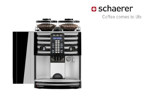 Schaerer Coffee Art 1-Step 1 Milk Espresso Machine Model Dfhbutton1Milk