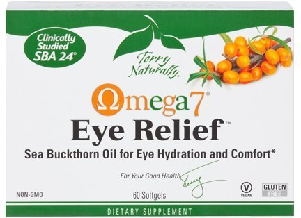 Omega7 Eye Relief EuroPharma (Terry Naturally) 60 Softgel (Dry Eye Advantage compare prices)