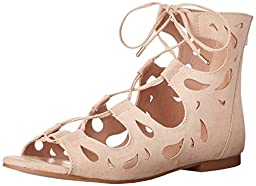 Call It Spring Women\'s Eubea GLADIATOR Sandal, Beige, 10 B US