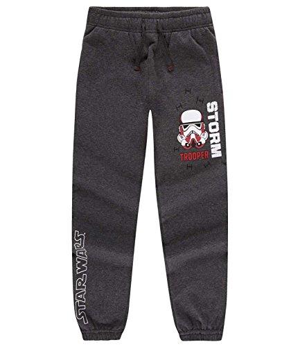 Star Wars-The Clone Wars Darth Vader Jedi Yoda Ragazzi Pantaloni da jogging - grigio - 152