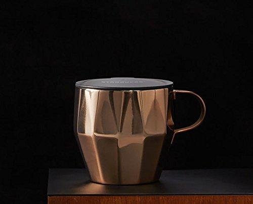 Starbucks スターバックス 北米限定 ステンレスマグ Stainless Steel Faceted Mug / Copper 14オンス [並行輸入品]