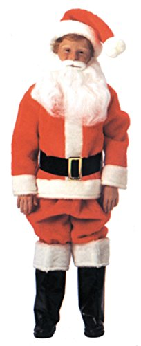 Boys Santa Suit Kids Child Fancy Dress Party Christmas Costume