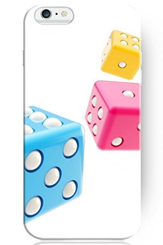Sprawl Cute Design 5.5 Apple Iphone 6 Plus Hard Protective Case -- Colorful Dice