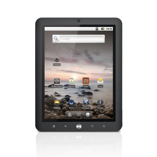 Coby Kyros 8-Inch Android 2.2 4 GB Internet Touchscreen Tablet, Black MID8024-4G