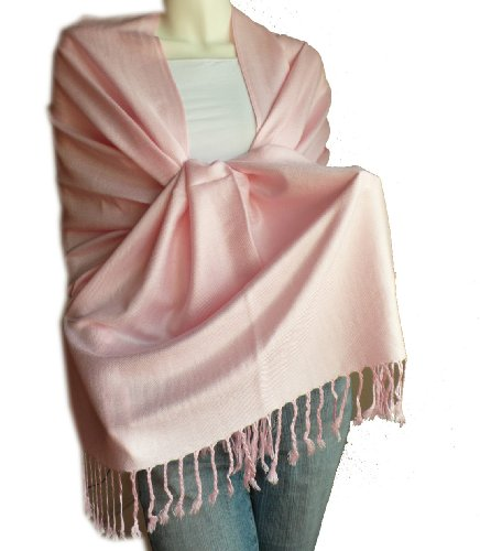 New Best Soft Pashmina/Shawl/Scarf/Wrap/Stole (pink)
