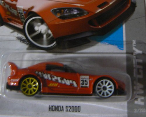 Hot Wheels HW City 21/250 Red Honda S2000