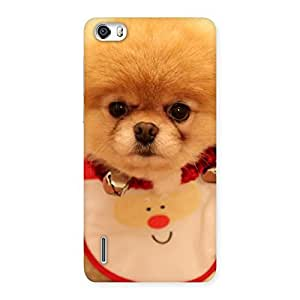 Ajay Enterprises Extant Cutesty Pup Back Case Cover for Honor 6