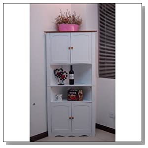 Pantry Cabinet Tall White Pantry Cabinet With Corner Kitchen Pantry Cabinet With Kitchen Pantry