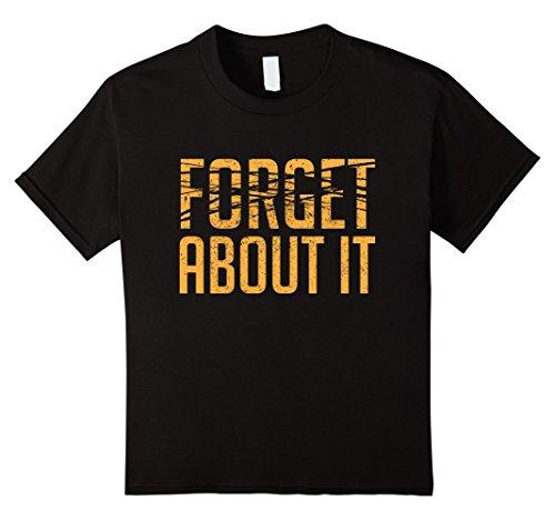 Kids-EmmaSaying-Forget-About-It-Dark-T-Shirt-Erased-Text-Design-Black