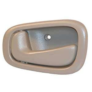 Toyota Corolla Driver Side Interior Door Handle Tan