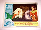 LOST WORLD OF SINBAD-LIZARD SCENE-1965-LC FN