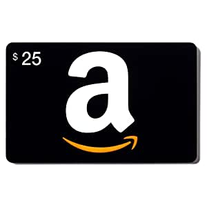 amazon 25 dollar prepaid gift card for amazon online webstore electronics. Black Bedroom Furniture Sets. Home Design Ideas