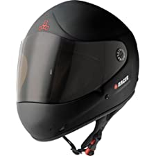 Triple 8 Downhill Racer Helmet, Black Rubber, Small/Medium