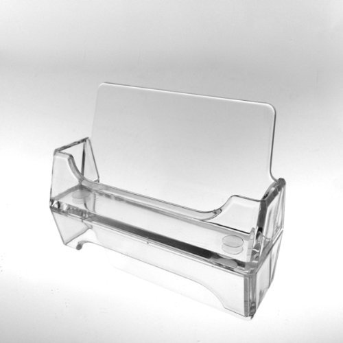 T'z Tagz Brand - 10 Individually Bagged Clear Acrylic Business Card Holder Displays (Acrylic Display Holders compare prices)