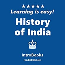 History of India Audiobook by  IntroBooks Narrated by Andrea Giordani
