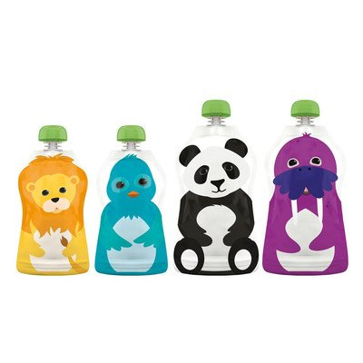 Reusable Food Pouch (Set of 4) - 1