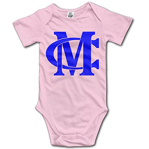 TLK Miguel Cotto Logo Babys Romper Bodysuit Outfits Pink Size 24 Months (Floyd Mayweather Boxing Tickets compare prices)