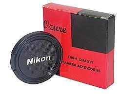 Ozure SELC-N 52 mm Lens Cap(Black + Silver Embossed, 52 mm)